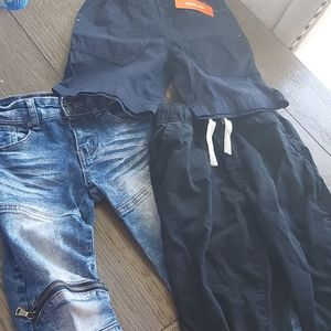 1 jeans, 1 pants, 1 shorts size 6-7